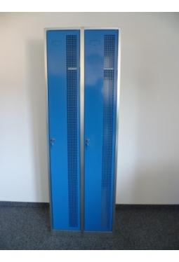 Garderobenschrank 2 Abteile nebeneinander