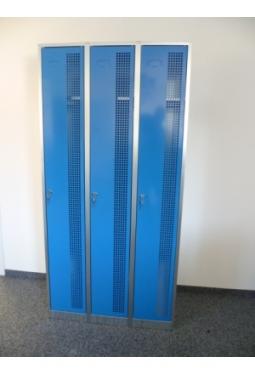 Garderobenschrank 3 Abteile nebeneinander